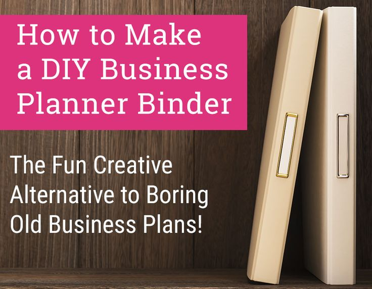 The DIY Business Planner