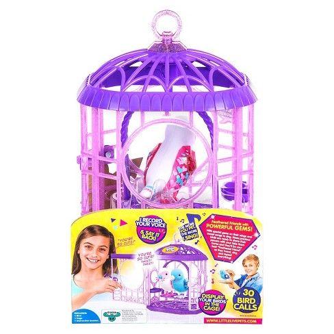 Little Live Pets Tweet Talking Bird With Cage Bessie Bestie Target Little Live Pets Bird Toys Talking Toys