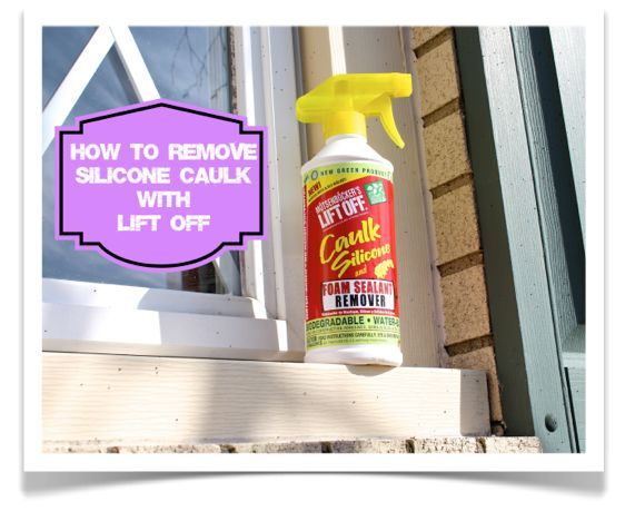 Repin this to help others learn How to Remove Silicone Caulk with Lift Off