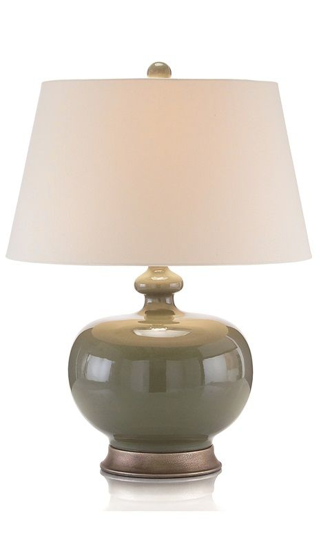 Instyle decor com beverly hills trending green table lamps hot in hollywood contemporary table lampsmodern