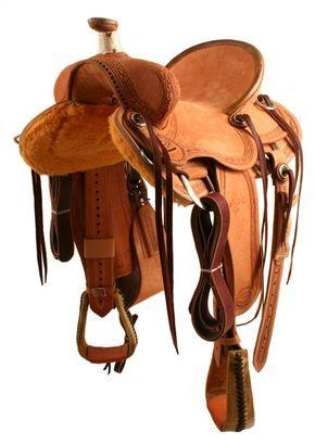Teskey's Saddle Shop: Teskey's Dakota Ranch Saddle