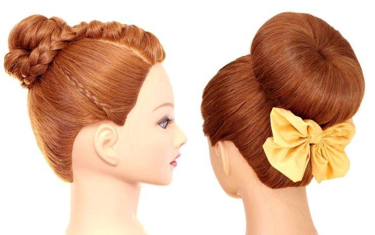 Легкие летние прически на длинные волосы. Easy summer hairstyles for lon...
