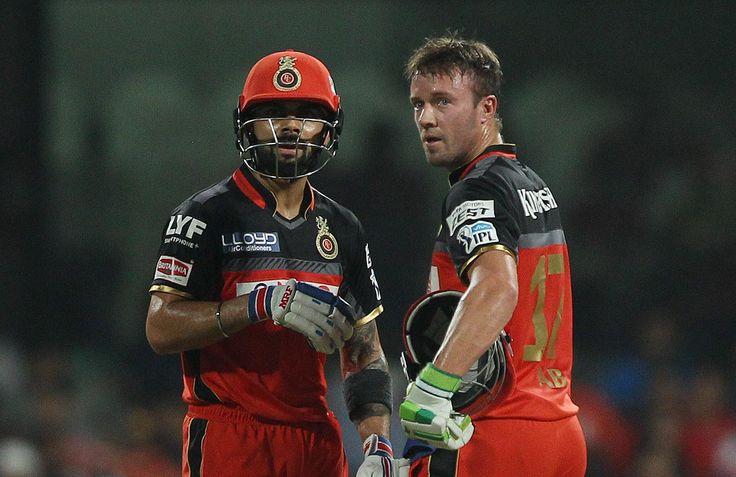 De Villiers, Kohli beat Warner's Sunrisers | cricket.com.au