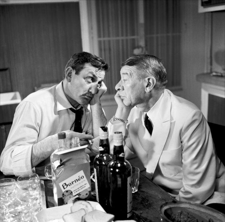 Lino Ventura & Robert Dalban