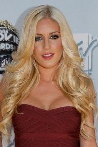 Heidi Montag Hairstyle, Makeup, Dresses, Shoes and Perfume.