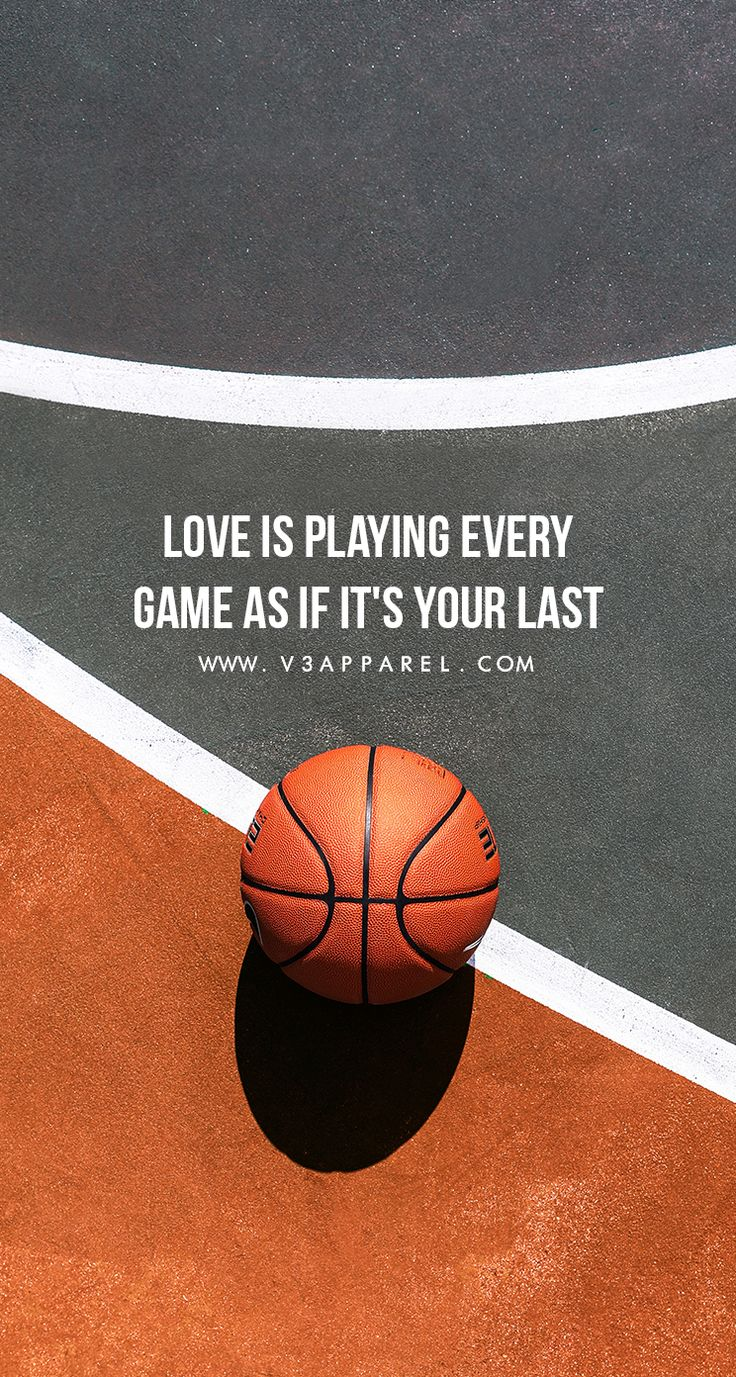 Love is playing every game as if it's your last.  #V3Apparel #Quotes #Motivati…