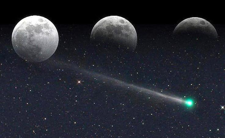 Luna llena, eclipse lunar y un cometa coincidirán este 10 de febrero