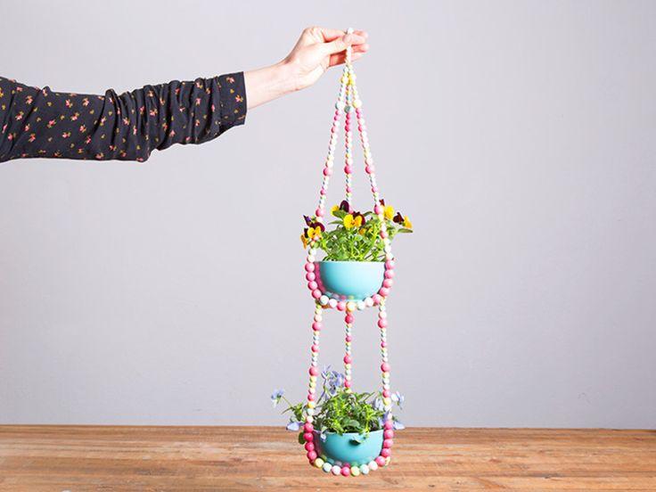Делаем подвесные горшки для цветов своими руками | Высоцкая Life