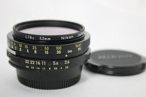 Nikon GN Auto NIKKOR・C 45mm f2.8 Converted Ai MF