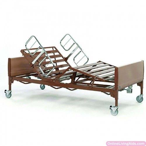 "Invacare - VBAR600IVC - IVC Bariatric Bed, 88"" x 42"" x 14"" - 22"", 600 lb. Capacity"