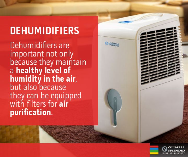 L'utilità dei deumidificatori: giovano alla salute in quanto purificano l'aria e sono utili per garantire una miglior conservazione degli alimenti. http://www.olimpiasplendid.it/deumidificatori