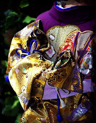 Obi for furisode