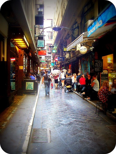 Degraves St. in Melbourne - Best place for brekky!