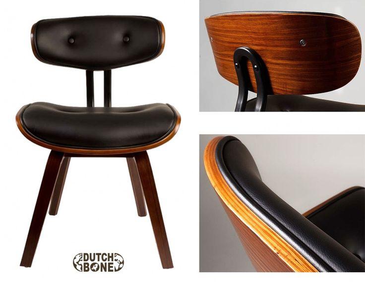 Black wood Dutchbone stoel