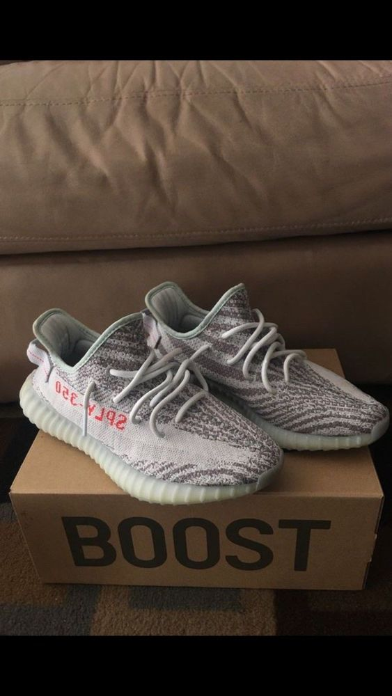 more photos 69fae fef2f yeezy boost 350 v2 blue tint size 9 #fashion #clothing ...