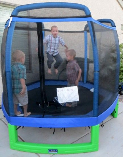 Summer with Sam's Club – My First Trampoline Review