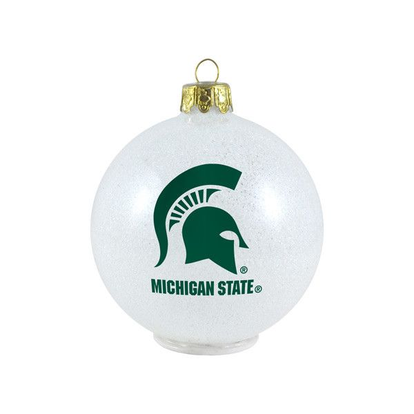 New! Michigan State Spartans Ornament - LED Color Changing Ball #MichiganStateSpartans