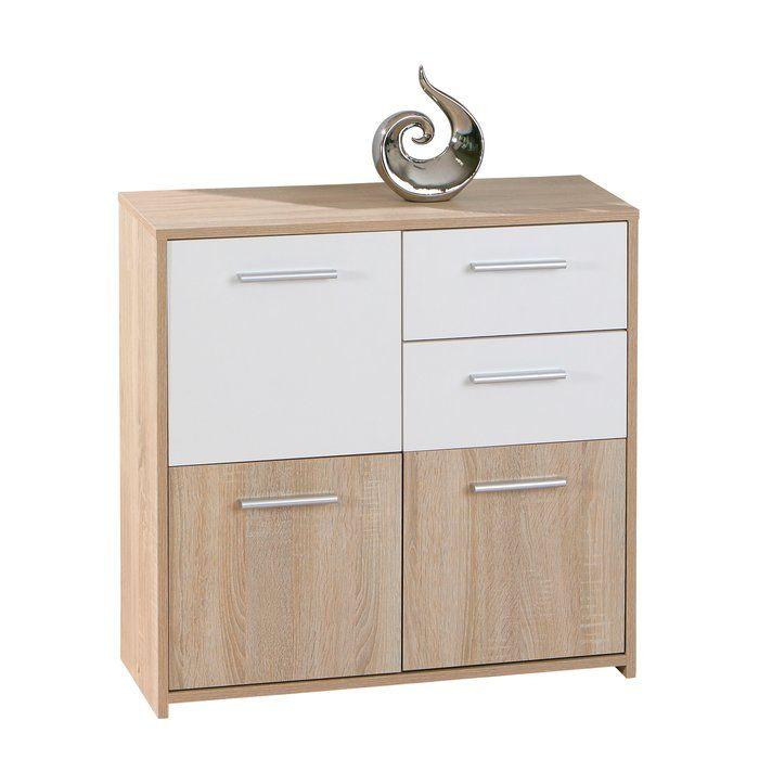 Pebble 2 Drawer 3 Door Cabinet