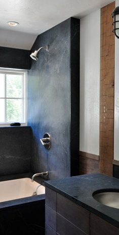 Nice Soapstone Shower