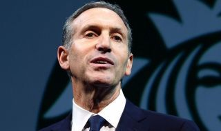 Howard Schultz: We employ over 200,000 people in this company, and we want to embrace diversity — of all kinds. If you feel, respectfully, that you can get a higher return than the 38% you got last year, it's a free country. You can sell your shares in Starbucks and buy shares in another company. Thank you very much.""