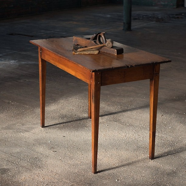 Good Small Accent Table Handcrafted From Antique Reclaimed Wood From The 1700u0027s  Made By Mobili Farm Tables Www.mobilifarmtables.com | Mobili Tables |  Pinterest ...