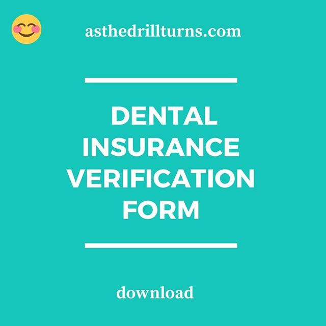 Dental Insurance Verification Is A Huge Task You Can Download An