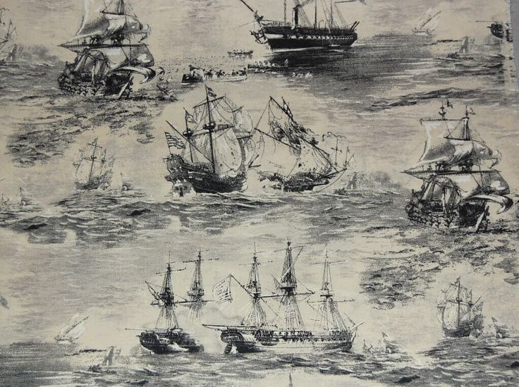 A personal favorite from my Etsy shop https://www.etsy.com/listing/502554204/half-metre-50cm-nautical-fabric-ships