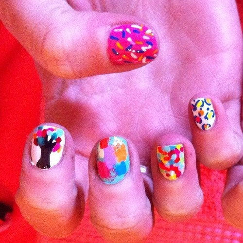 Ice cream nails | Nail Art | Pinterest | Ice Cream Nails, Cream Nails ...