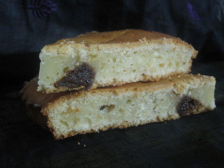 Gâteau figues sèches et citron