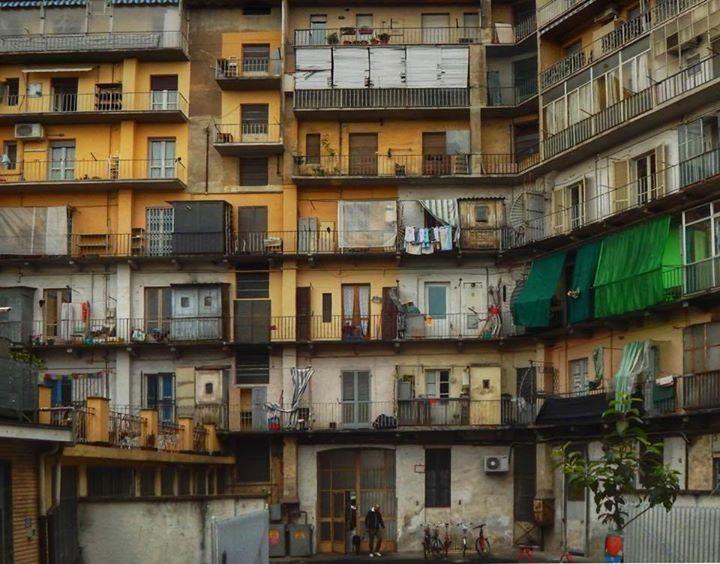 Torino, case a ringhiera