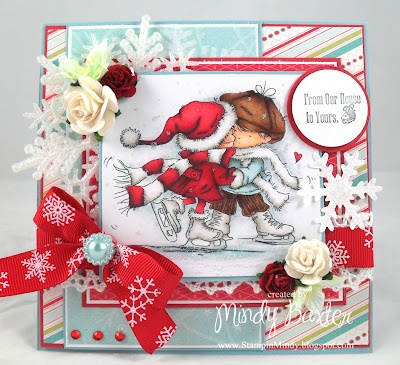 Ice Skating from Lili of the Valley (LOTV) stamps.