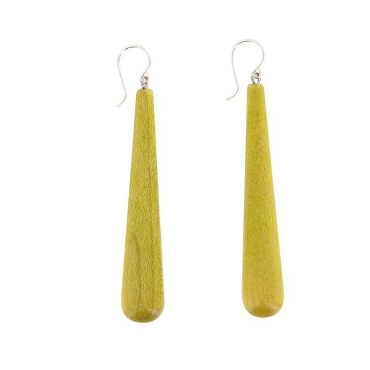 Aarikka - Earrings : Kuovi earrings, pistachio