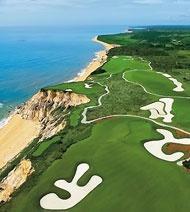 Golf course in Porto Seguro, Bahia