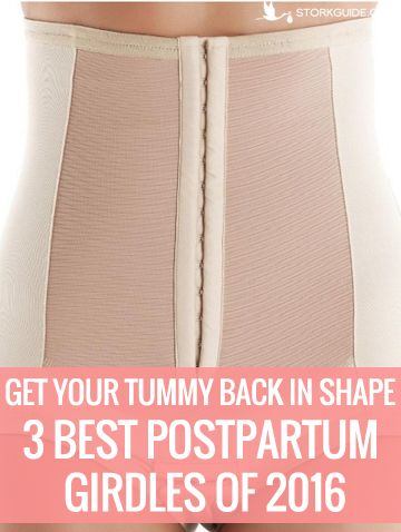 Unlike the Victorian contraptions most of us (okay, I) imagine upon hearing the word girdle, the postpartum support undergarments on the market today will probably not cause you to swoon every time…
