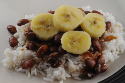 Congonese Beans and Rice with Boiled Green Bananas: Recipes from the Democratic Republic of the Congo
