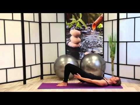 Ejercicios de Pilates para fortalecer zona lumbar,tonificación de abdominales,gluteos y piernas - YouTube