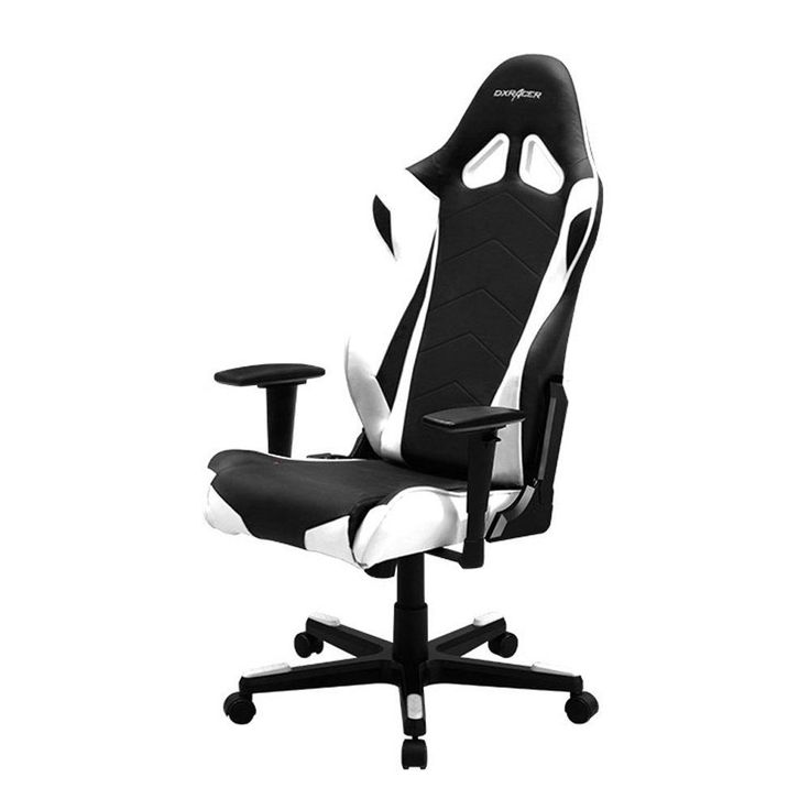 DXRacer Racing Series DOH/RE0/NW Newedge Edition Racing Bucket Seat Office Chair Gaming Chair Ergonomic Computer Chair Esports Desk Chair Executive Chair Furniture with Pillows #ergonomicofficechair