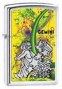 Zippo Gemini High Polish Chrome Lighter #Zippo #gemini #zodiac #eLighters
