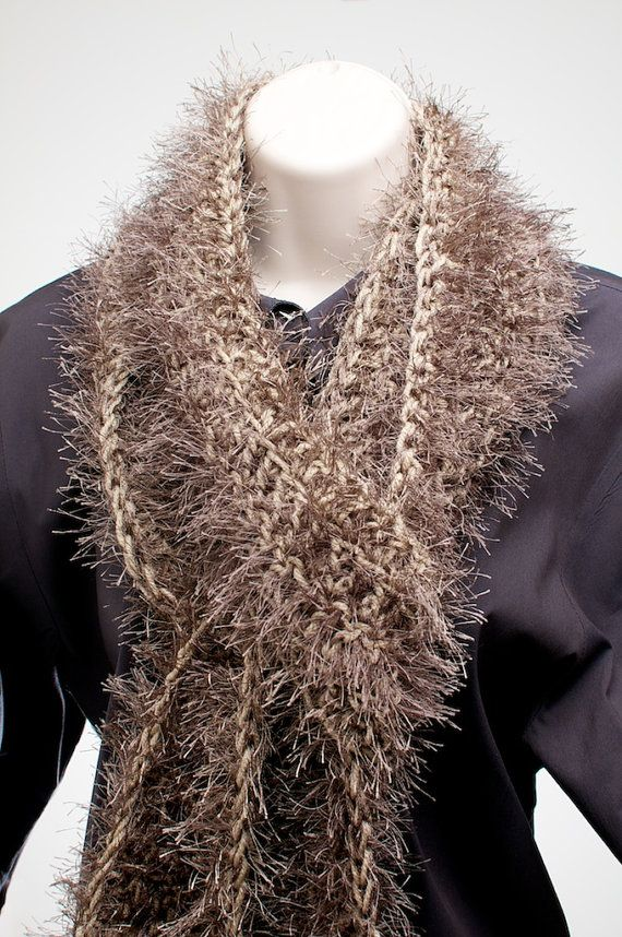 Knitting Pattern For Fun Fur Scarf : 92 best images about Knitting/crocheting project ideas on ...