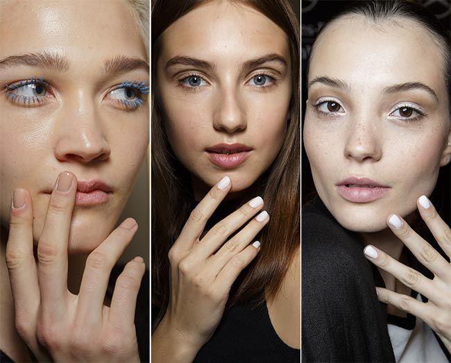 Весна/ Лето 2015 Ногтевых Тенденций: Закругленные Ногти