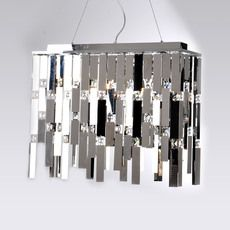 37 best modern lights images on pinterest chandelier chandelier reflex stainless steel chrome chandelier mozeypictures Gallery