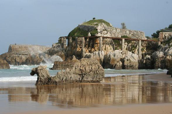 La Playa del Camello, en Santander