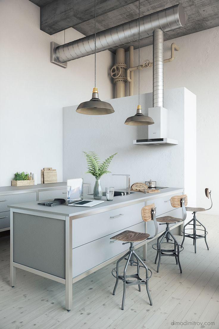 314 best Kitchen/Kitchens images on Pinterest | Kitchen ideas, Small ...