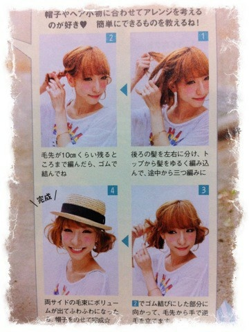Japanese hair tutorial i love japanese hairstyles. so different than