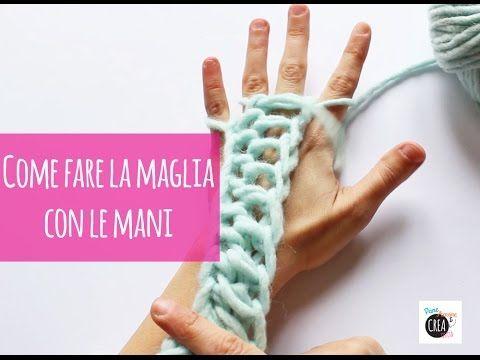 DMC ti presenta HANDY, il filato ideale per fare la maglia con le mani. Il videotutorial ti mostra come avviare i punti e lavorare con le tue mani e le tue b...