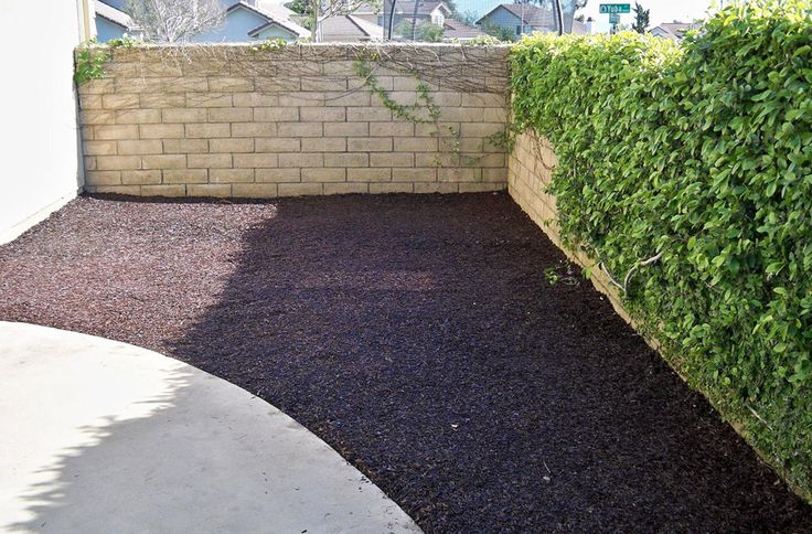Playground Rubber Mulch - Premium Recycled Rubber Mulch