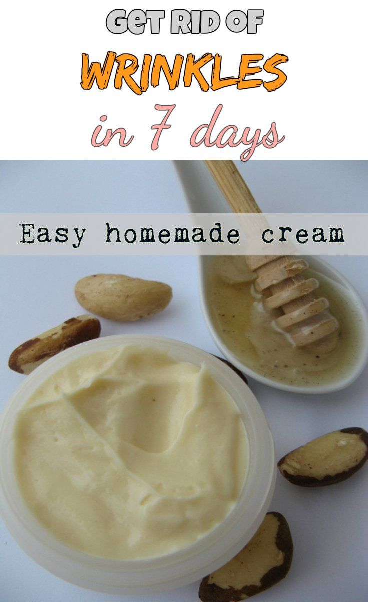 Easy Homemade Cream That Will Get Rid Of Wrinkles In Just 7 Days