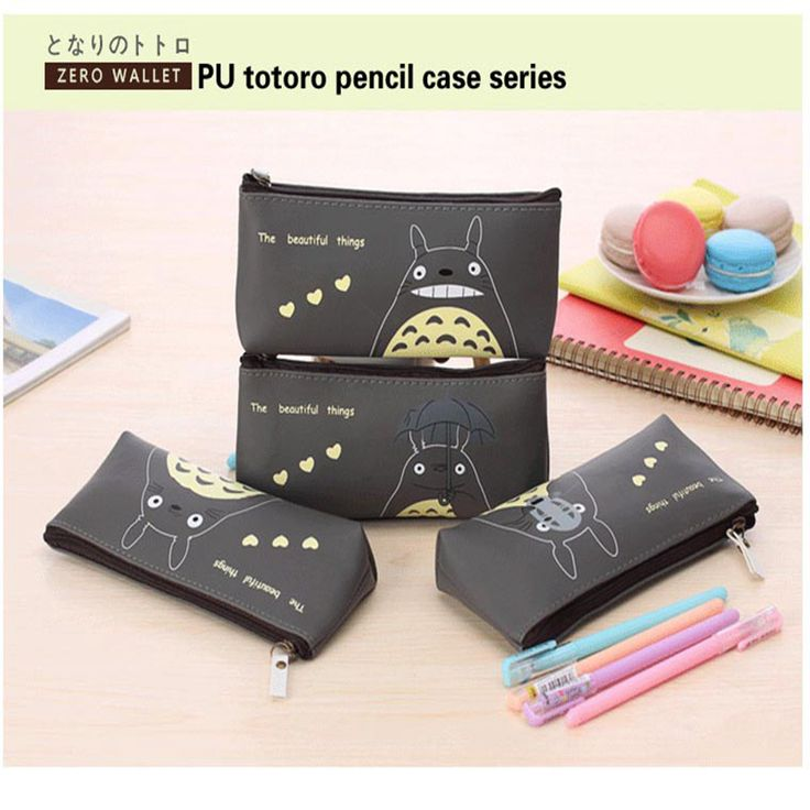 pen box pouch bag bags school canvas Korea cute cheap art supplies stationery totoro pencil vintage stationery students anime #>=#>=#>=#>=#> Click on the pin to check out discount price, color, size, shipping, etc. Save and like it!