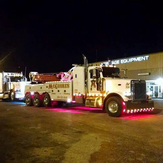 McGuires Towing & Recovery Ashland Ky. Great Guys