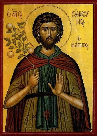 St Euphrosynos the Cook